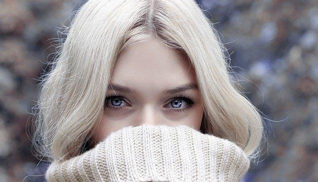 makijaż dla blondynek